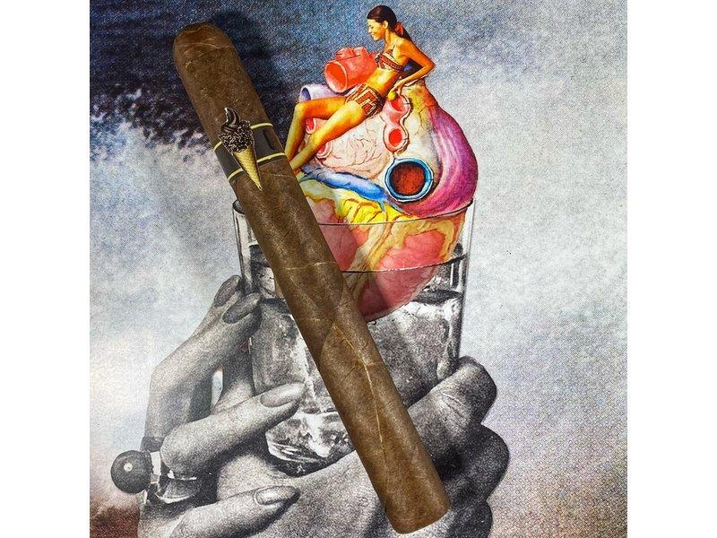 Privada Cigar Club Ice Cream Vanilla Chocolate Swirl Habano Doble Corona