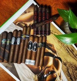 Lizard King & Bishop's Blend Flight of 15 Cigars