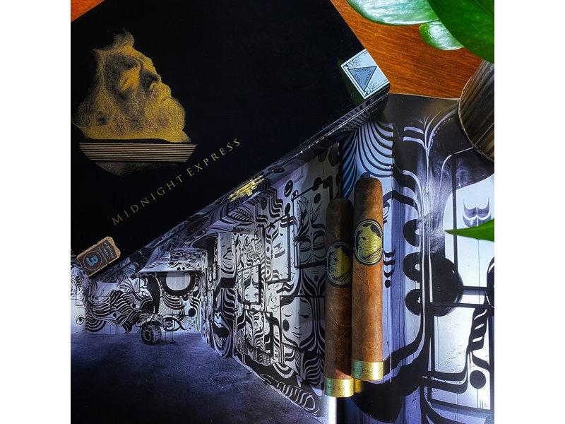 Caldwell Cigar Co Caldwell Midnight Express Jokey Club Robusto 5 x 50