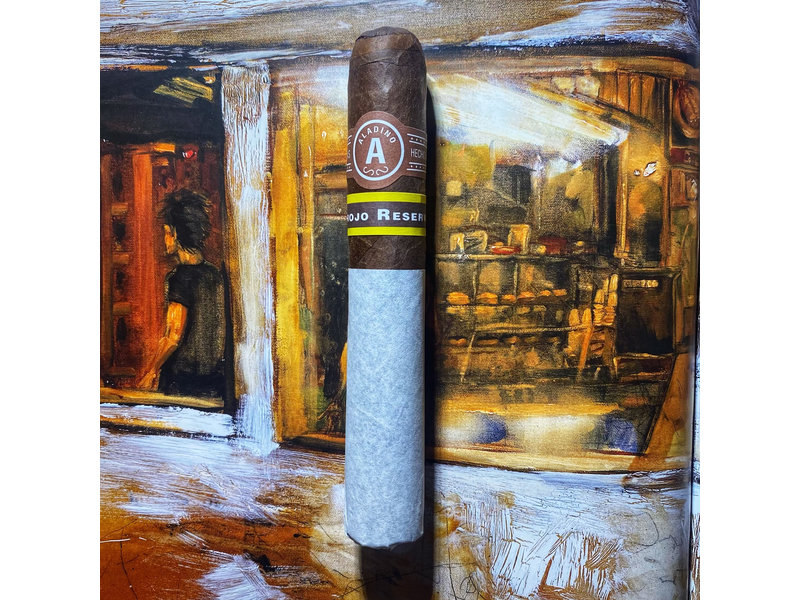JRE Tobacco Co. Aladino Corojo Reserva Robusto 5x50
