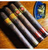 Nica Rustica & HVC  Flight of 4 with Challenge Coin