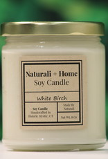 Naturali Home White Birch Soy Candle (8oz)