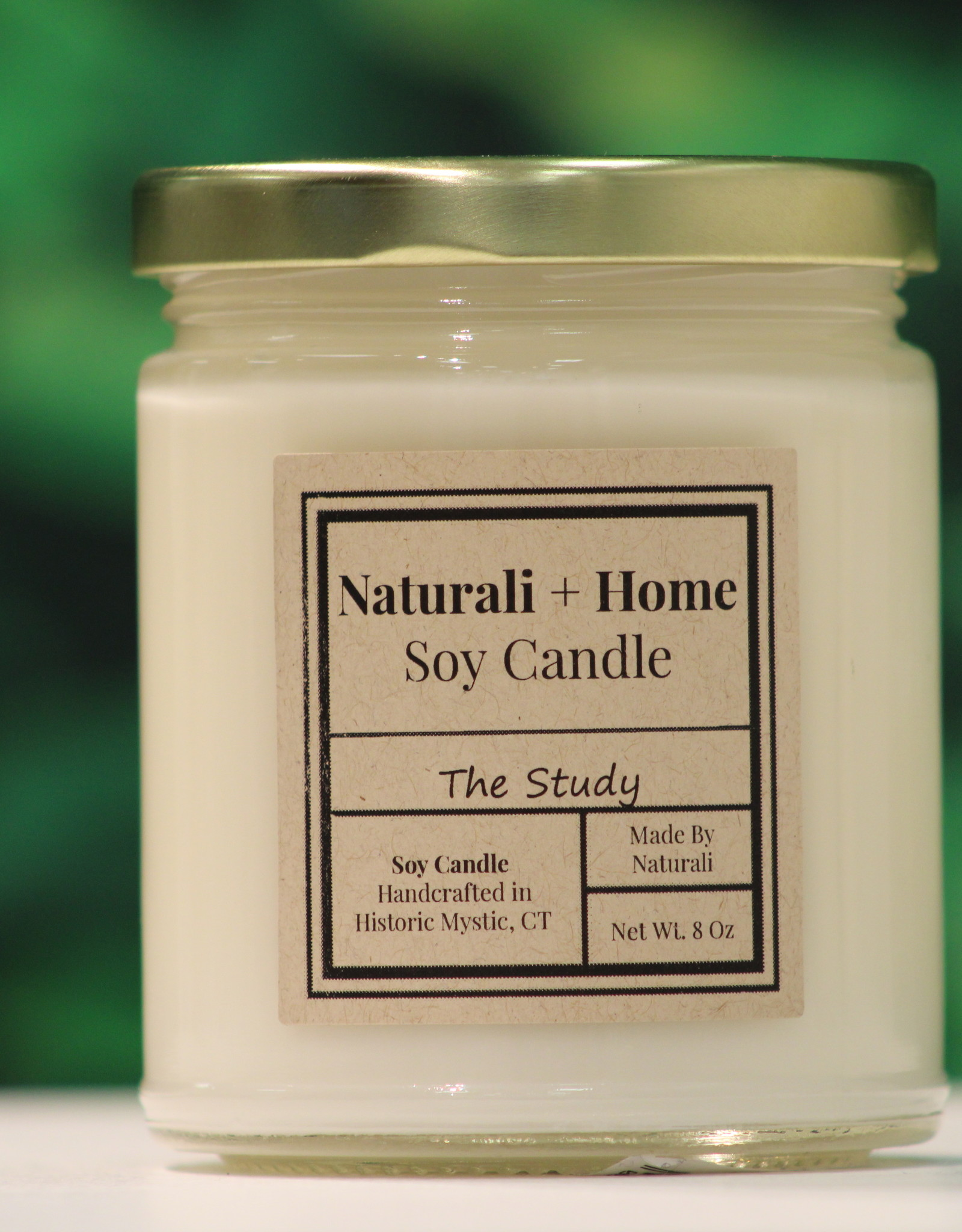 Naturali Home The Study Soy Candle (8oz)
