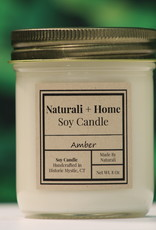 Naturali Home Amber Soy Candle