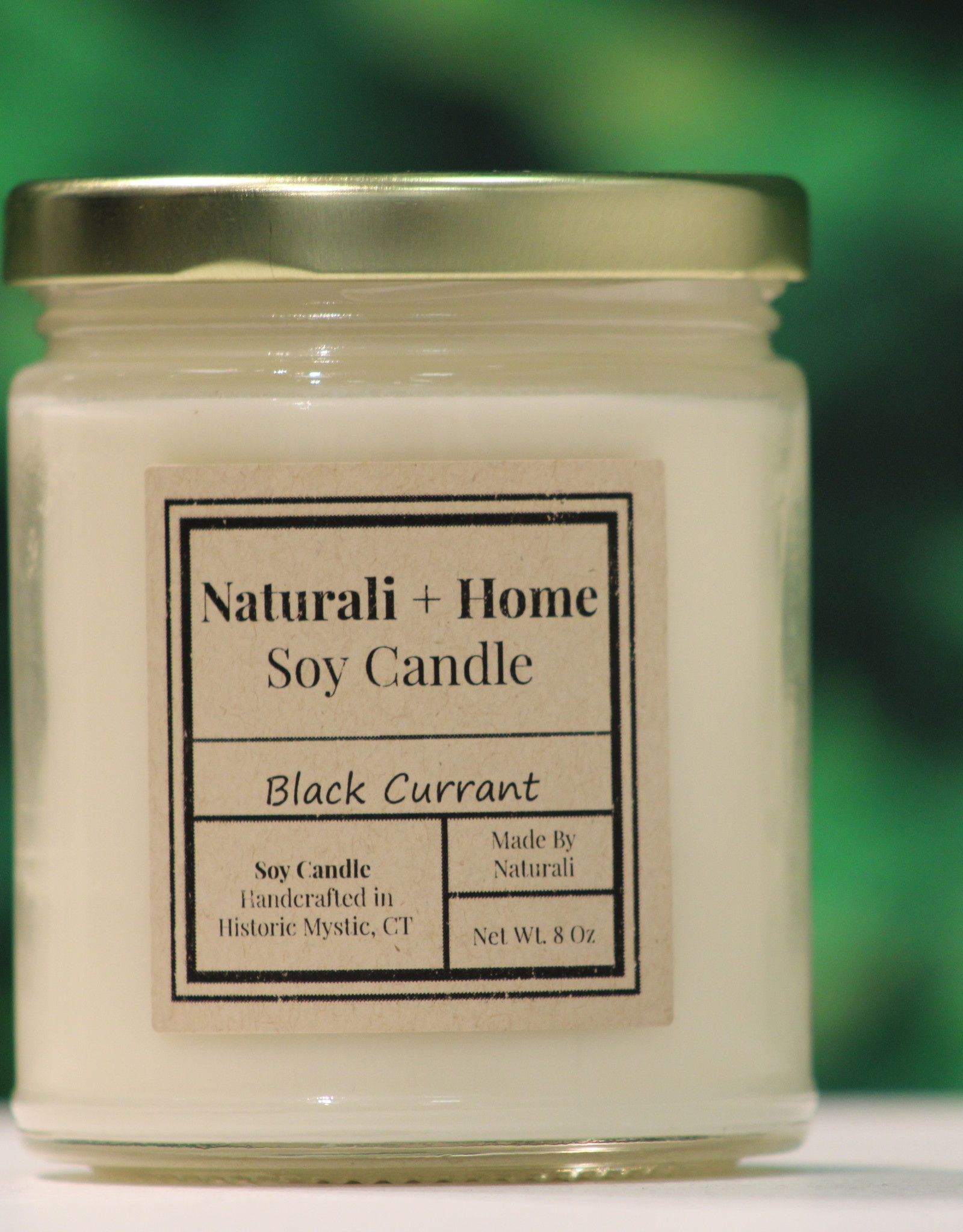 Naturali Home Black Currant Soy Candle