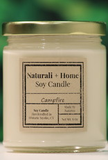 Naturali Home Camp Fire Soy Candle (8oz)