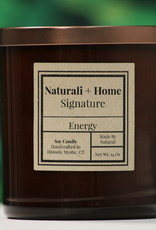 Naturali Home Energy Soy Candle (8oz)- Discontinued