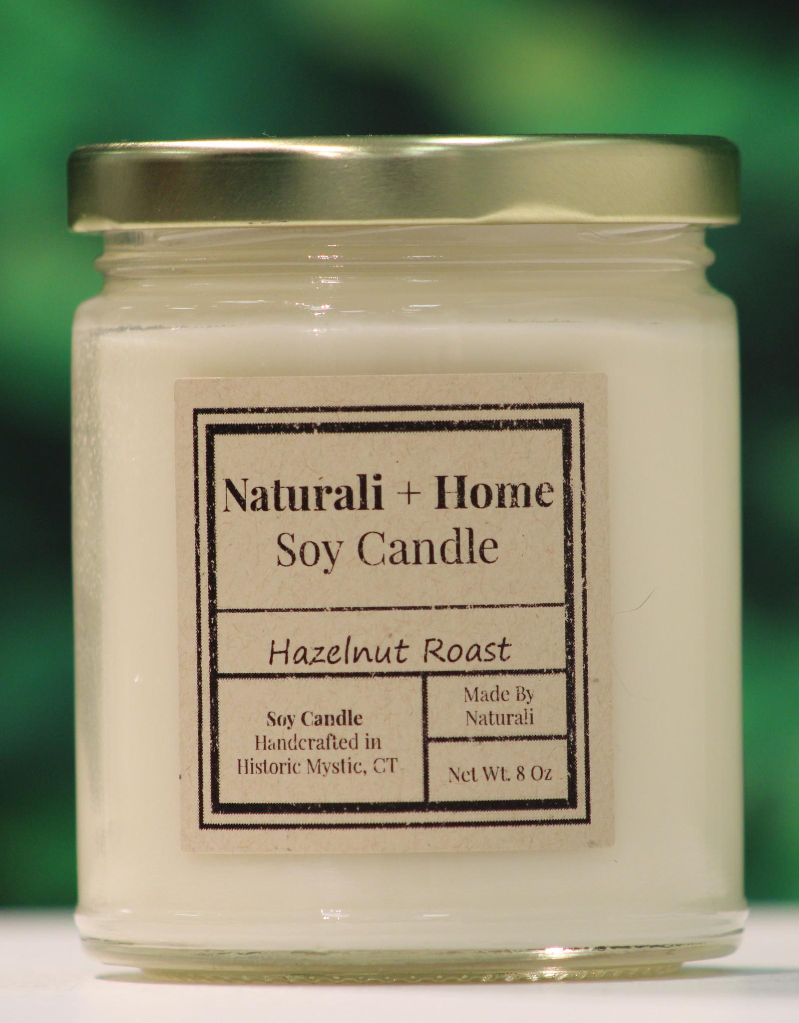 Naturali Home Hazelnut Roast Soy Candle (8oz)