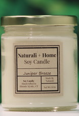 Naturali Home Juniper Breeze Soy Candle (8oz)