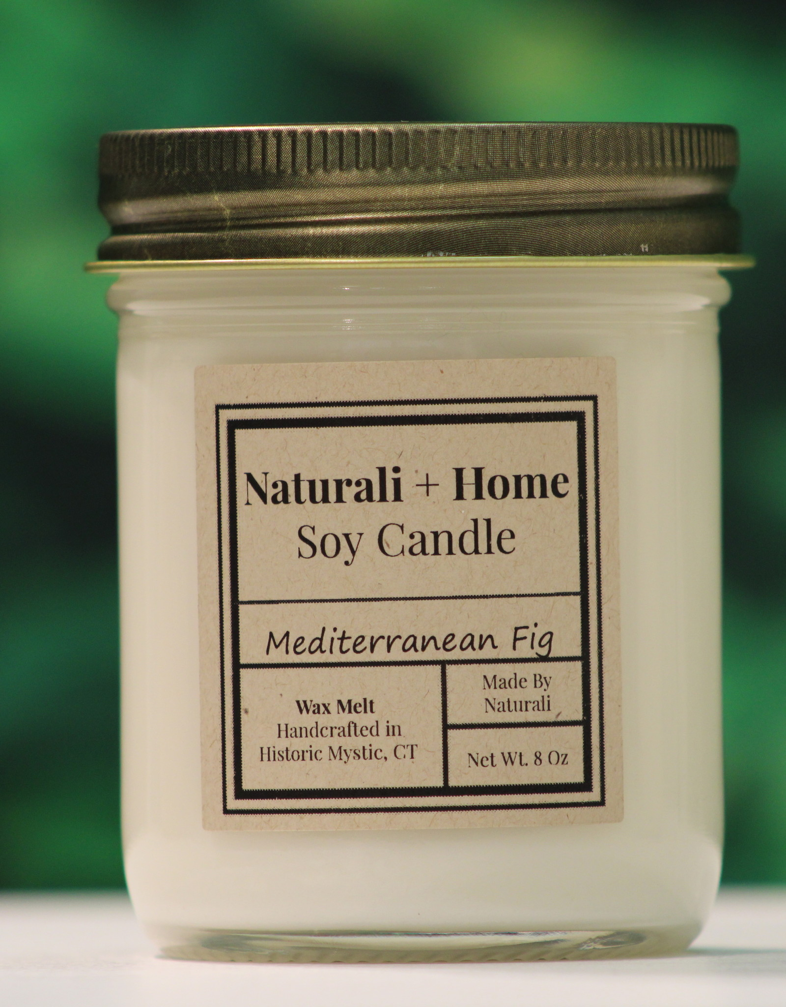 Naturali Home Med Fig/ Fresh Fig Soy Candle (8oz)