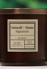 Naturali Home Meditate Soy Candle (8oz) Discontinued