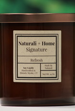 Naturali Home Refresh Soy Candle (8oz) Discontinued