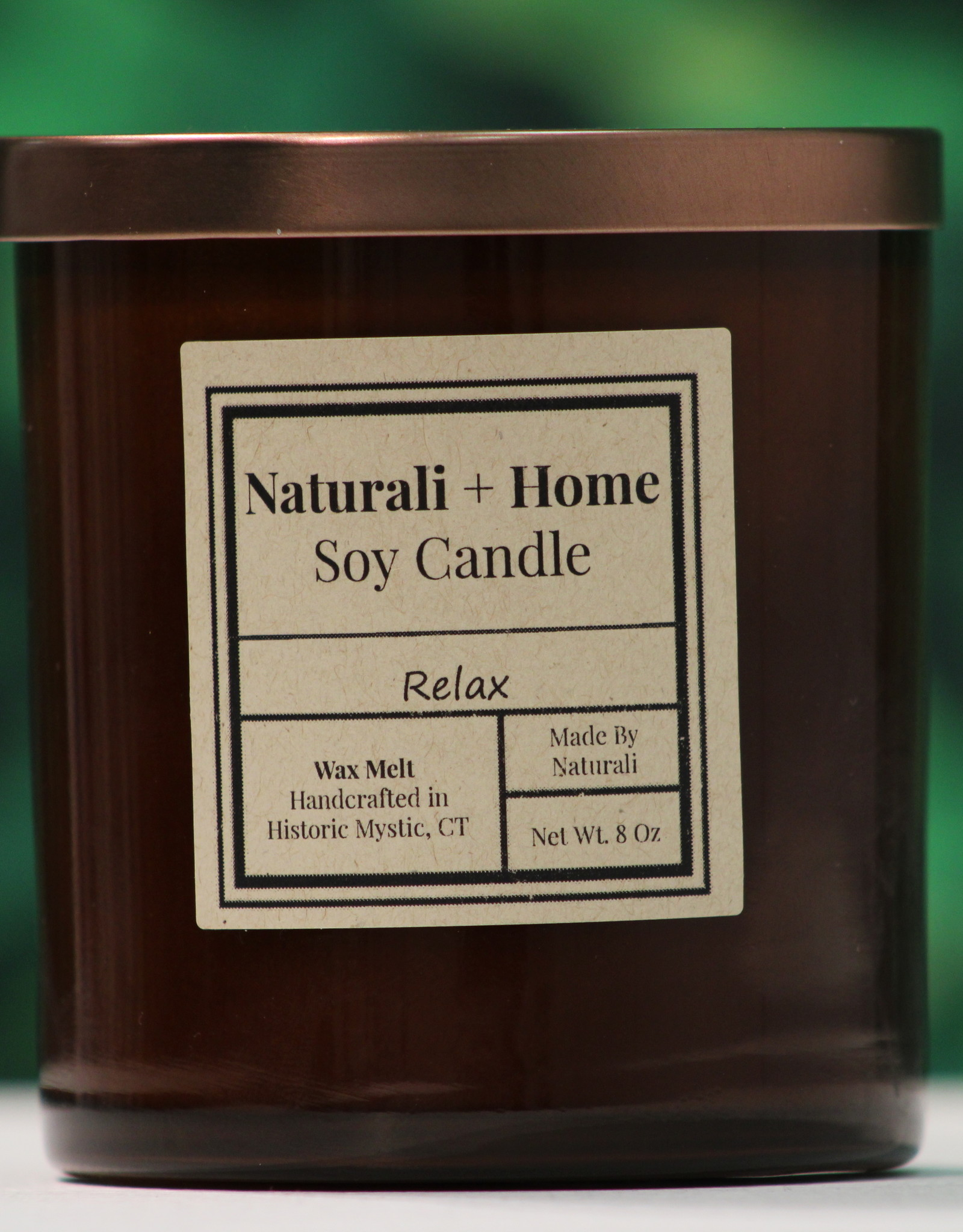 Naturali Home Relax Soy Candle (8oz) Discontinued