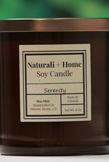 Naturali Home Serenity Soy Candle (8oz) Discontinued