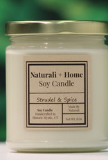 Naturali Home Strudel & Spice Soy Candle (8oz)