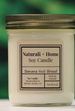 Naturali Home Banana Nut Bread Soy Candle (8oz)