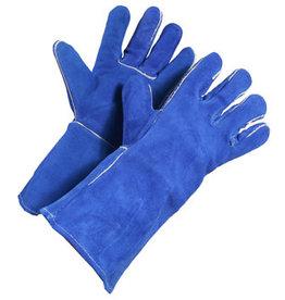 Blue Split Welding Glove Lined Kevlar Sewn