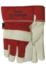 Red Baron Grain Leather Glove