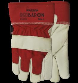 Red Baron Grain Leather Glove
