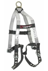 """""""Hybrid Econo"""" Harness with 1 large back D ring, Grommeted Leg Straps"""