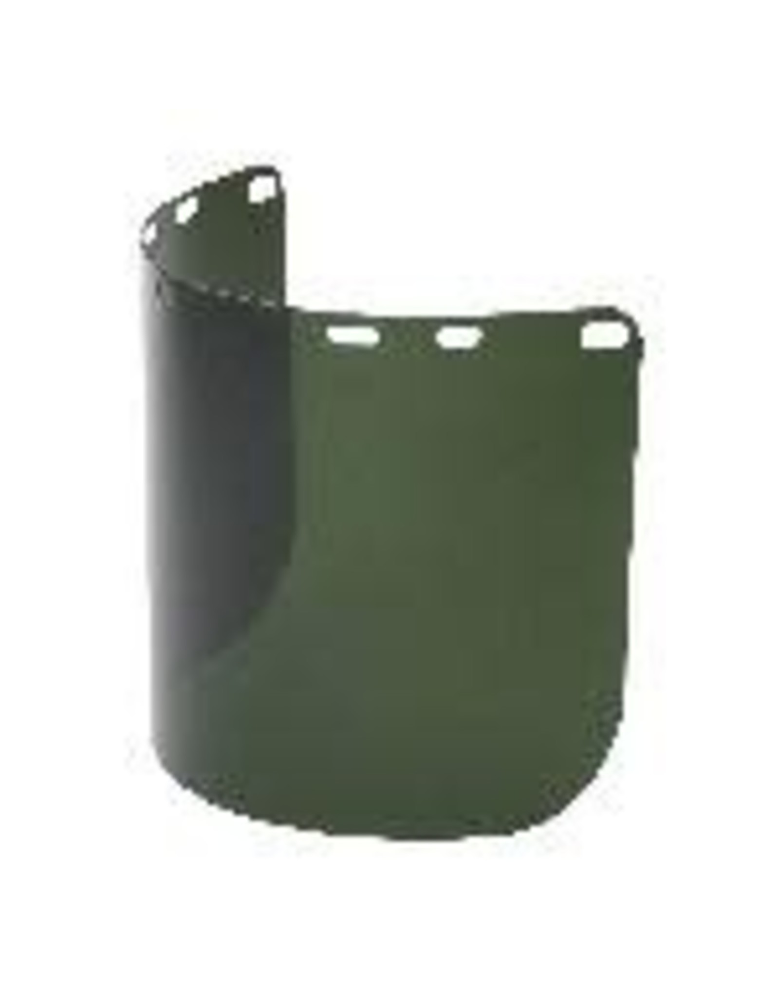 North Faceshield Formed 8 IN X 15 IN Green