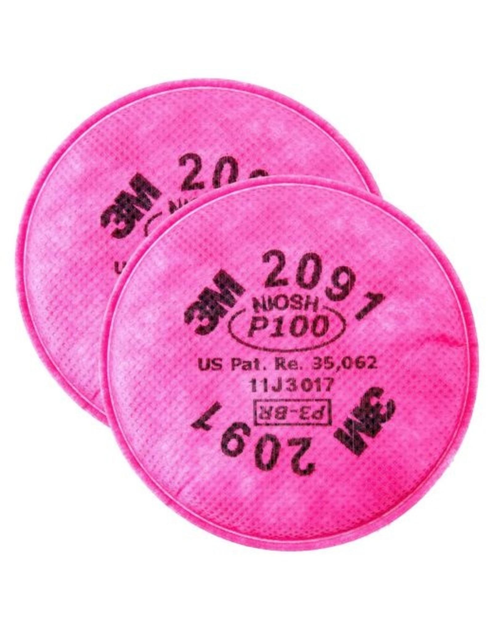 3M P100 Particulate Filter 2/Bag
