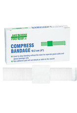 "Compress Bandages 10.2 x 10.2 cm (4"" x 4),  1's"