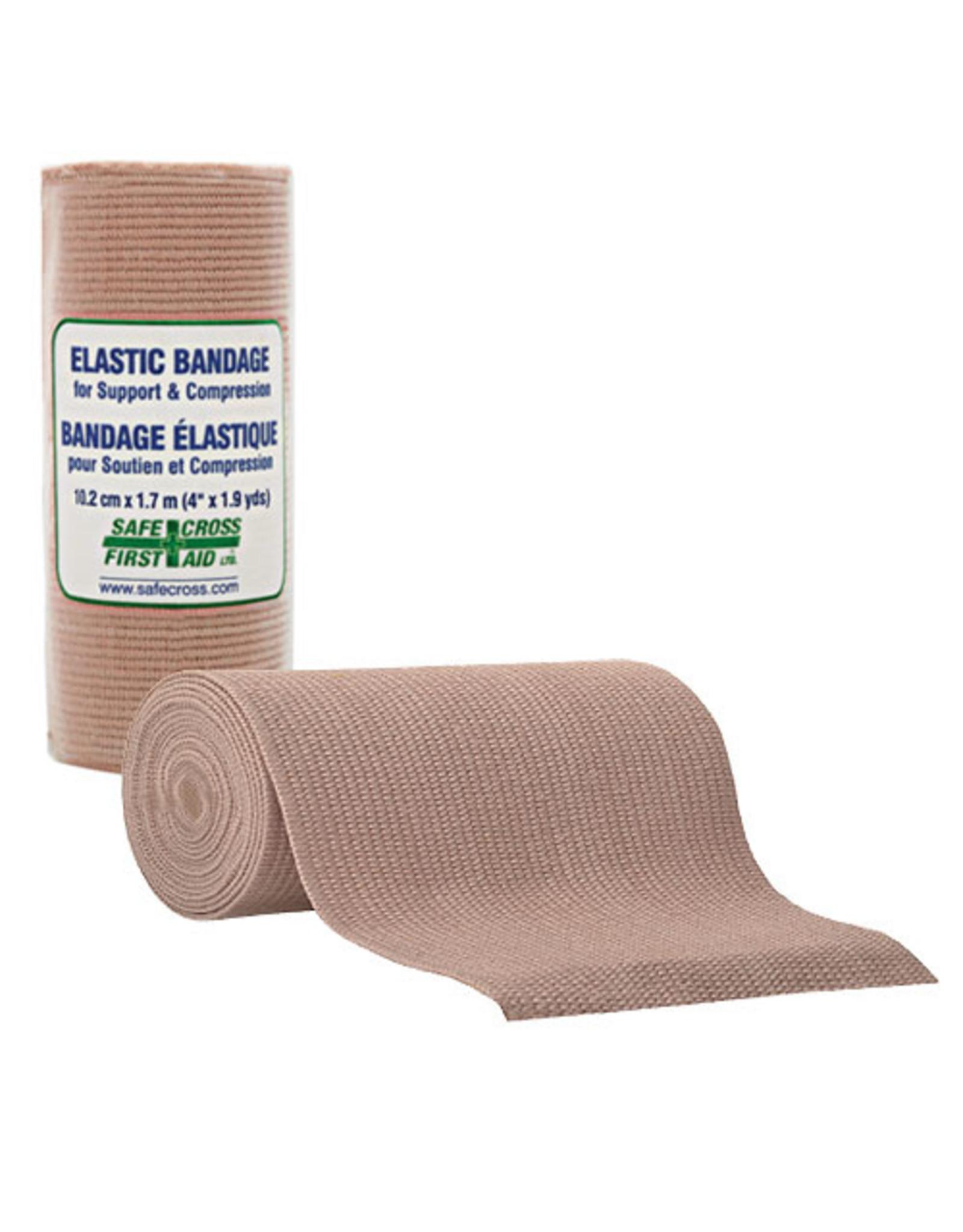 Elastic Support/Compression Bandage, 10.2 cm x 4.6m