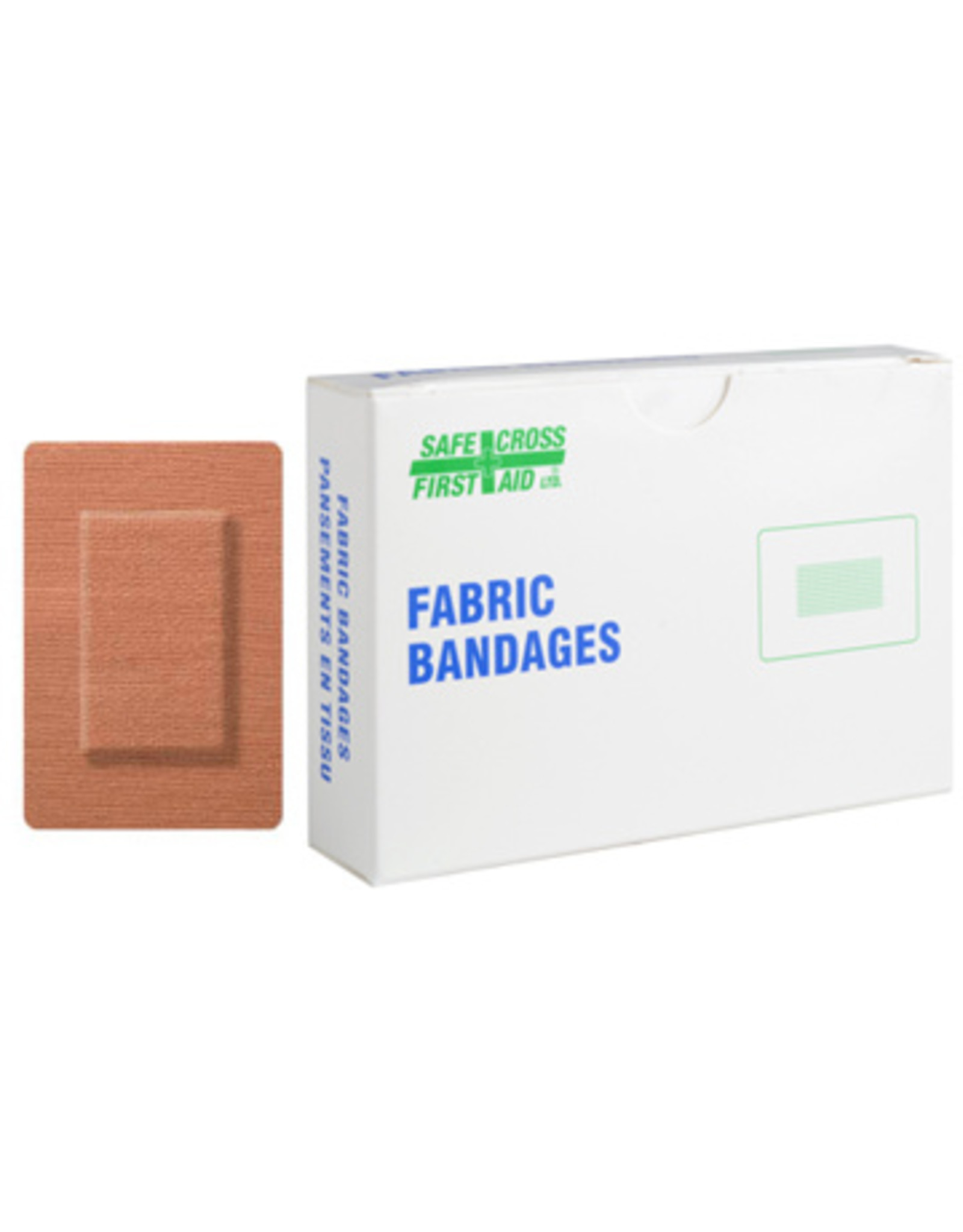 Fabric Bandages, Large Patch, 5.1cm x 7.6cm - Heavyweight