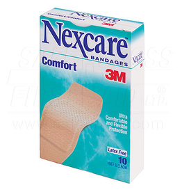 Nexcare, Comfort Bandages, Knee & Elbow, 10/Box