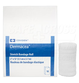 Conforming Stretch Bandages, 5.1 cm x 1.8 m, 12/Package