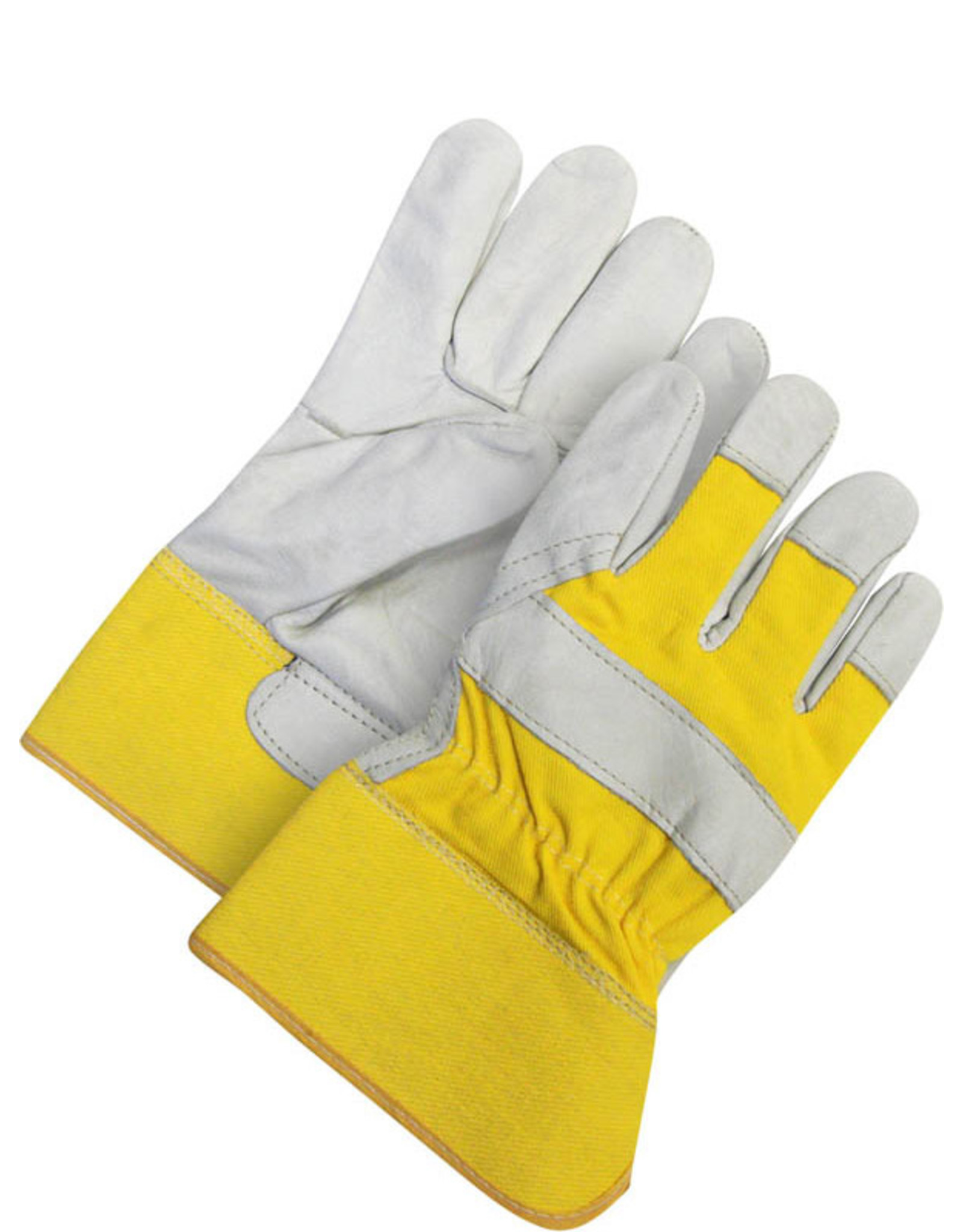 Fitter Glove Cowhide Yellow