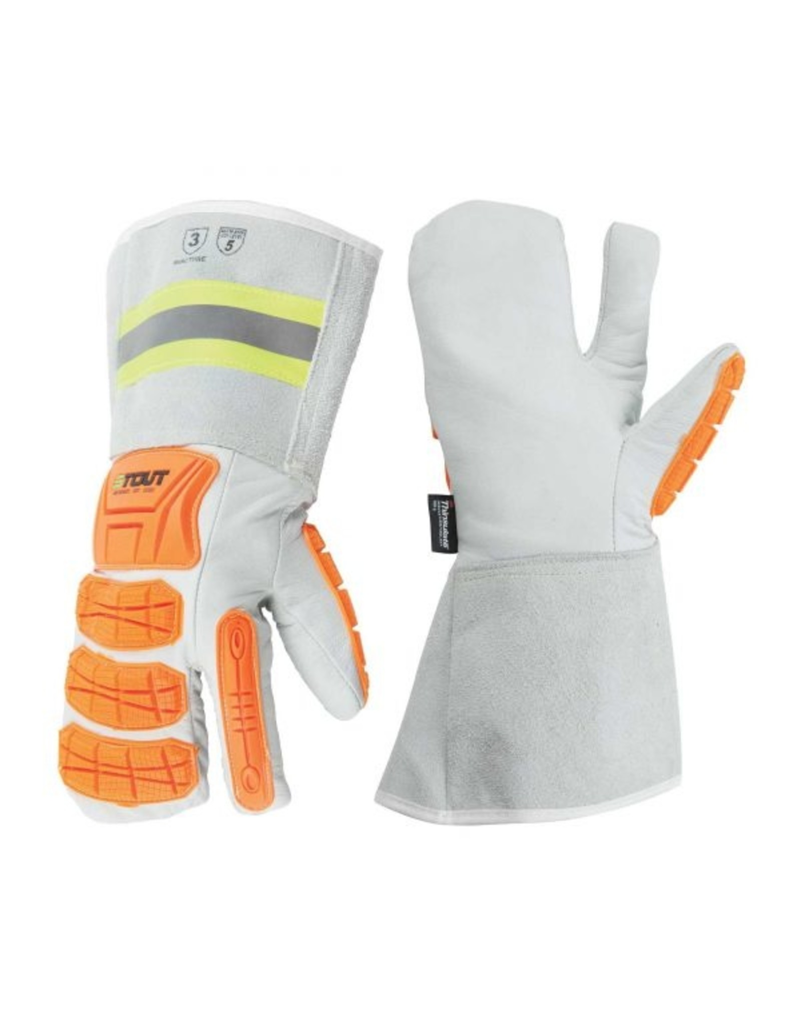 Platinum winter mitt, impact protection, ANSI cut 5, with C100 thinsulate + fleece