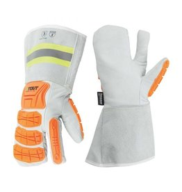 Platinum winter mitt, impact protection, ANSI cut 5, with C100 thinsulate + fleece