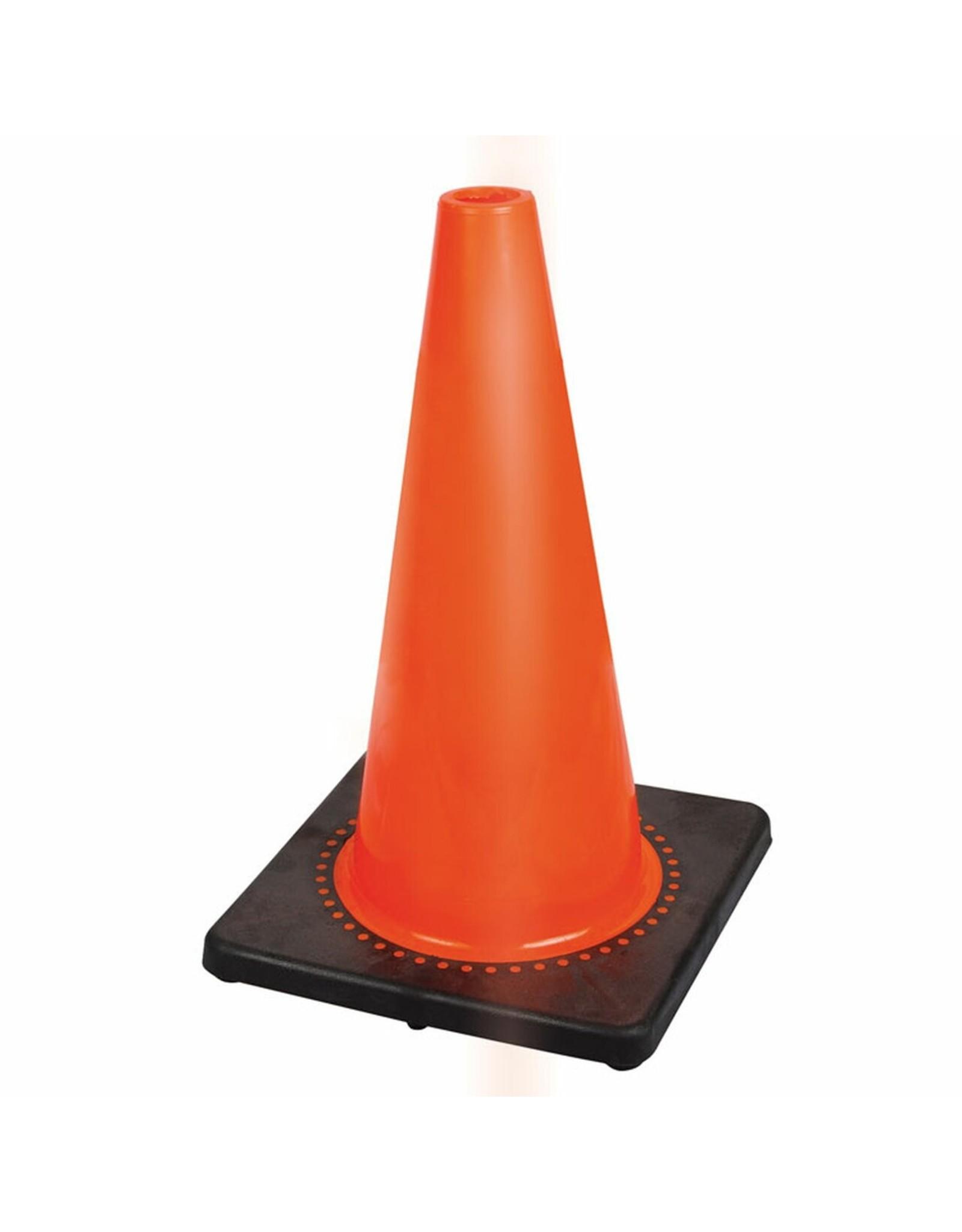 18'' Premium PVC Flexible Safety Cone No Band