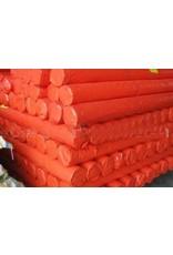 Orange Rip-Proof Polyethylene Tarp