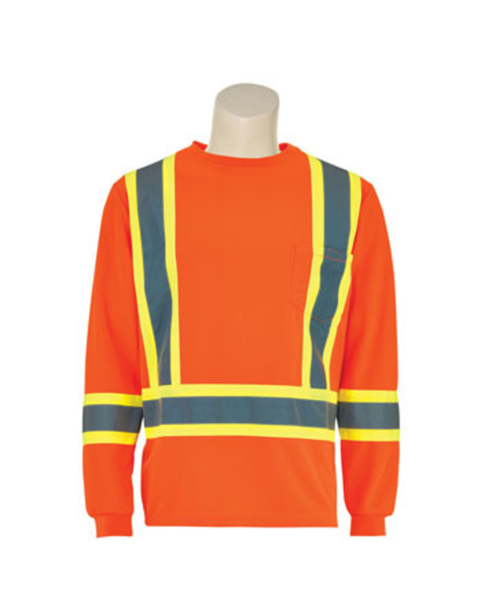 Orange Hi - Viz CSA Class 2 Polyester Long Sleeve