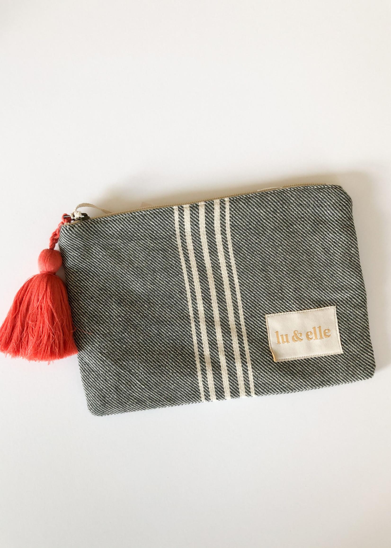 Lu & Elle Classic Stripe Pouch
