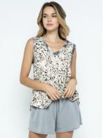 Ces Femme Leopard Knit Tank