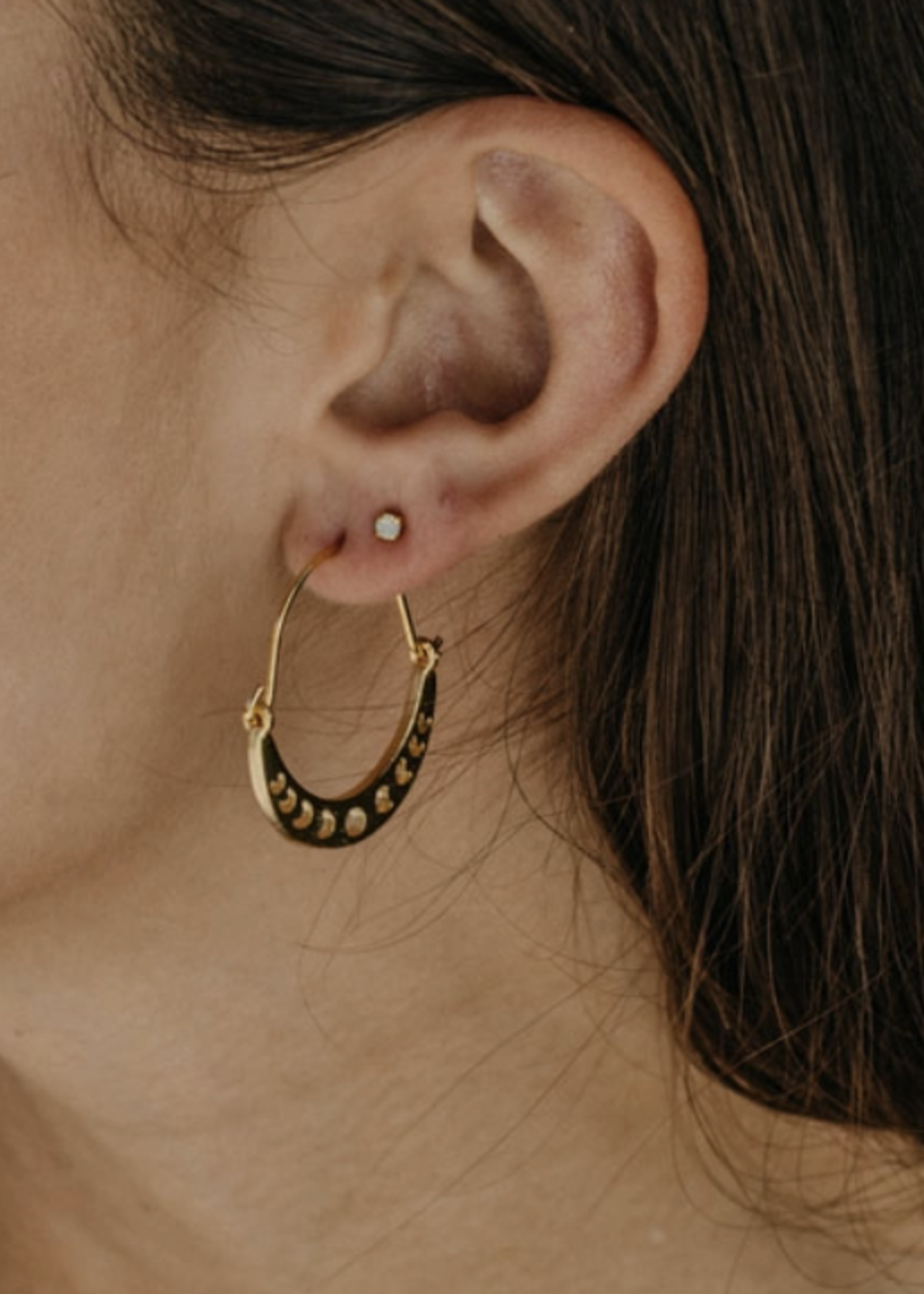 Amano Studio Phases of the Moon Earrings