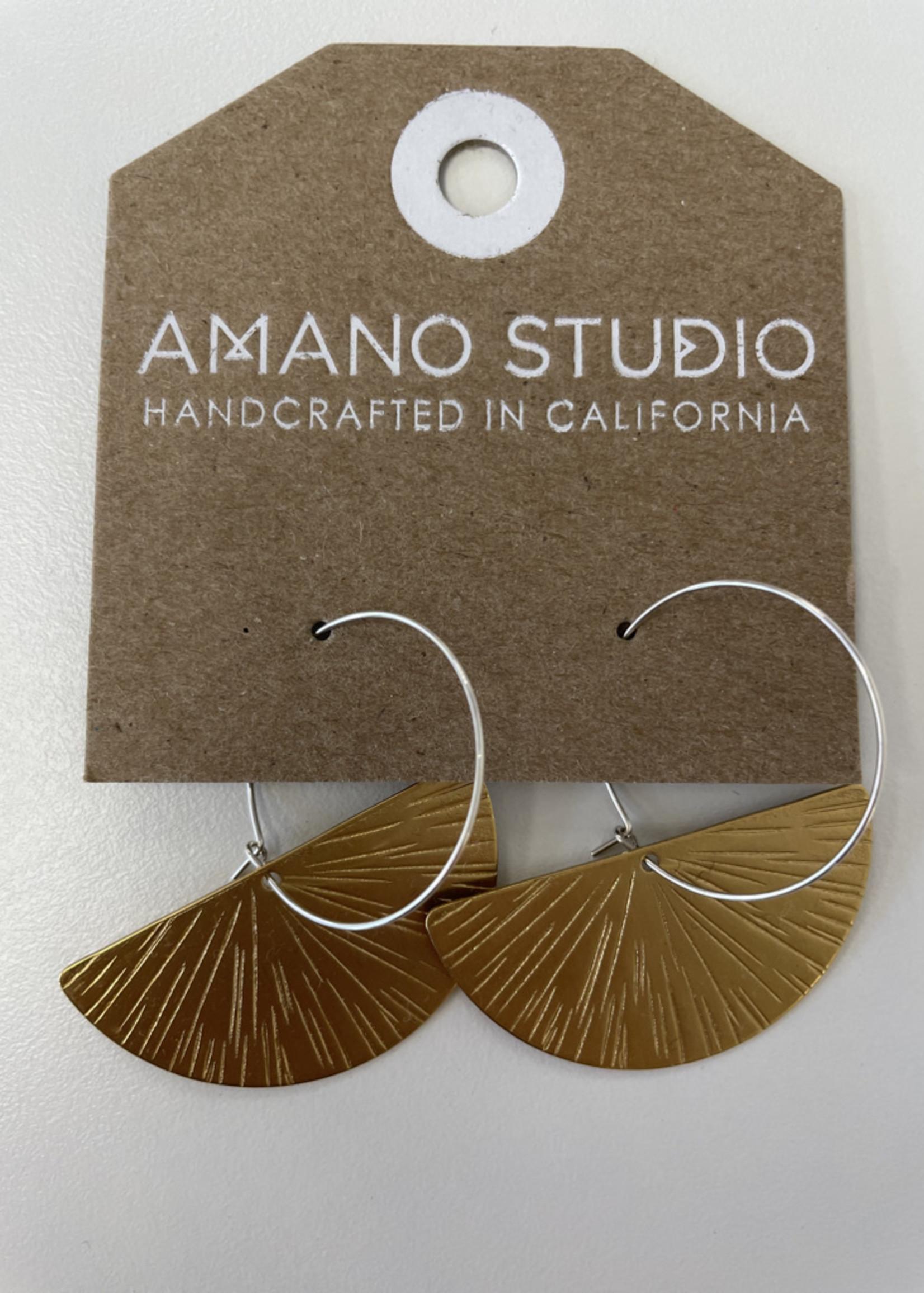 Amano Studio Ray of Light Hoops