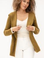 Mystree Shawl Collar Hoodie/Olive S