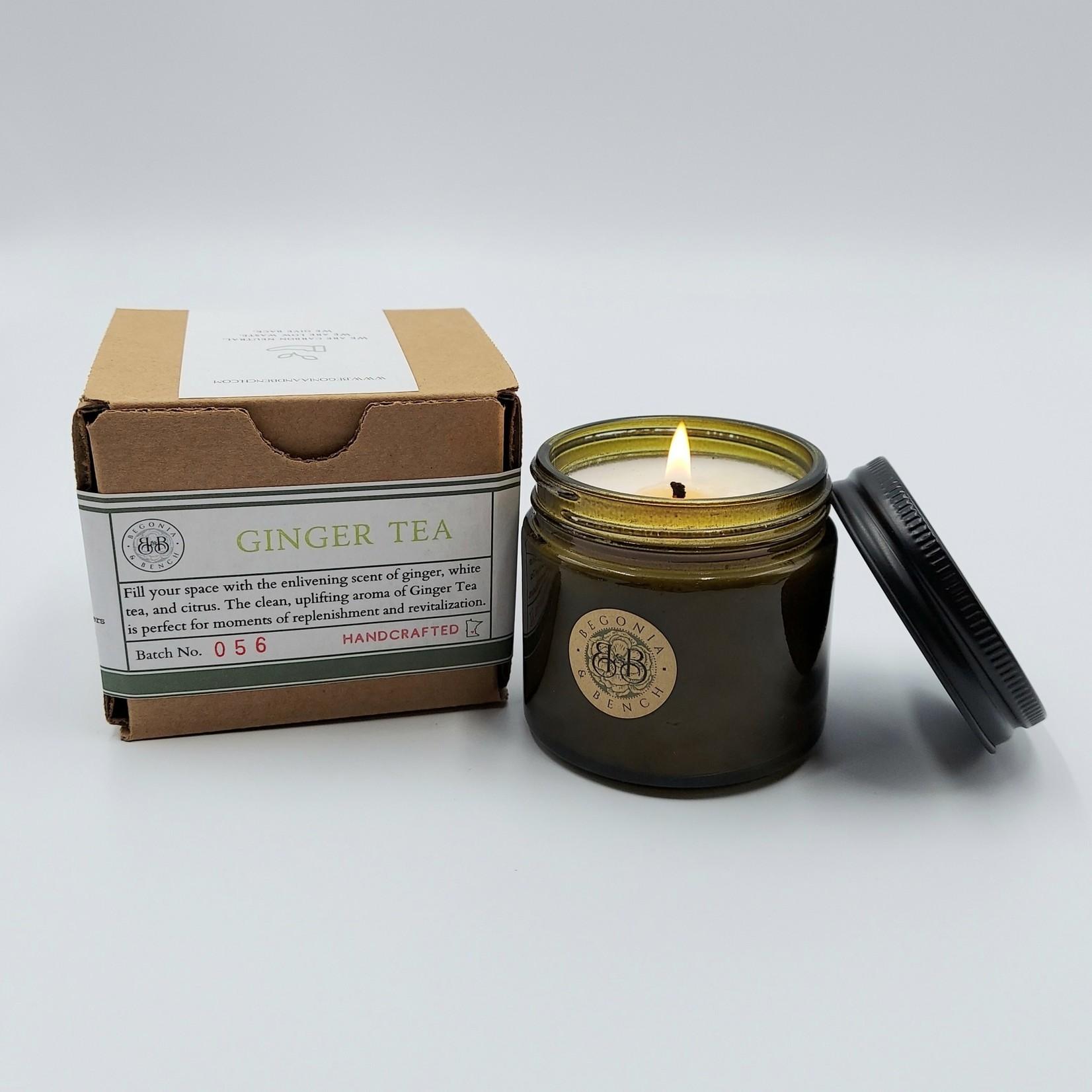 Begonia & Bench Candles