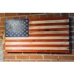 Bordertown USA Wooden Flag