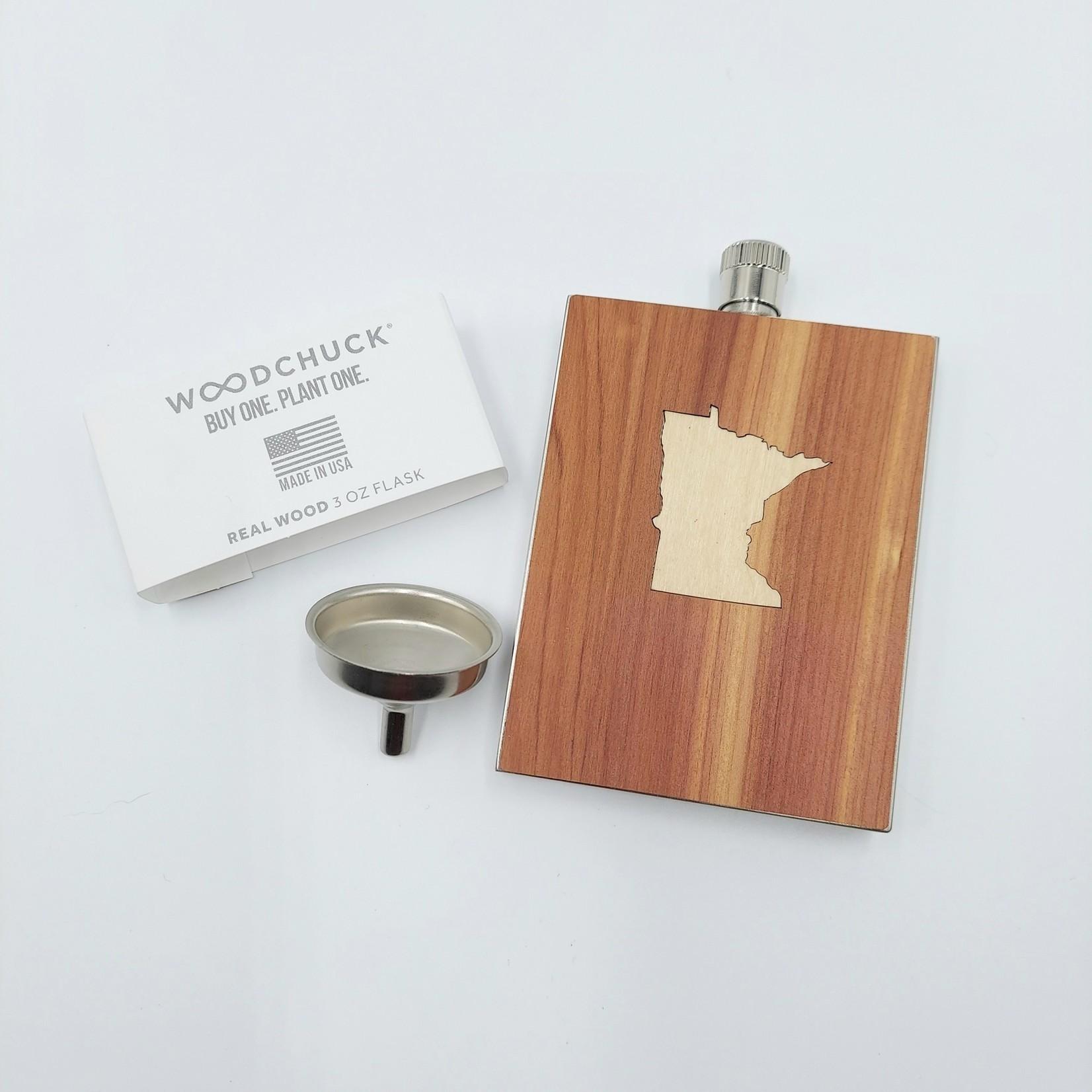Bordertown Minnesota 3oz Flask