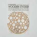 Art by Phillip Roberts Wooden Sticker