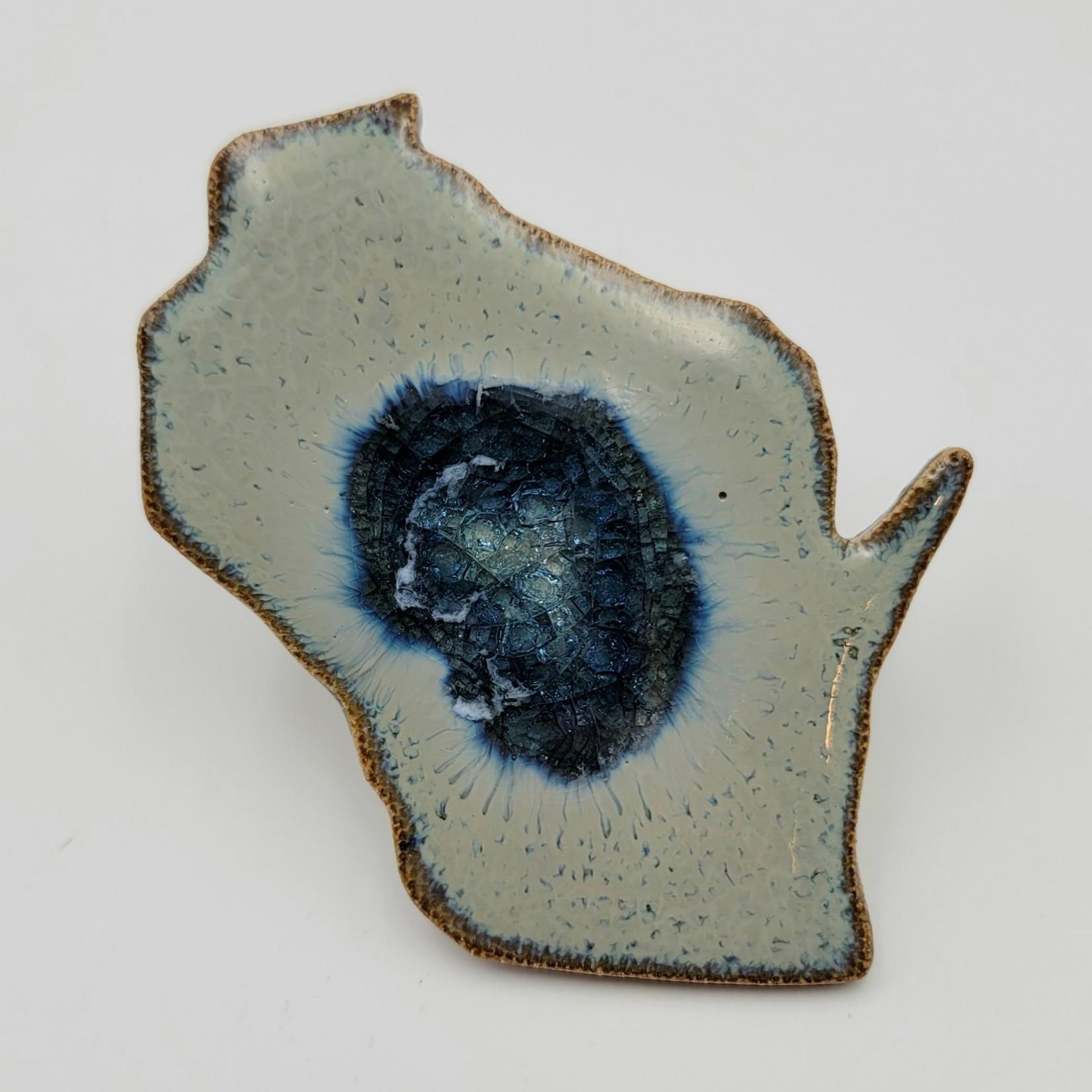 Kerry Brooks Wisconsin Geode Magnet