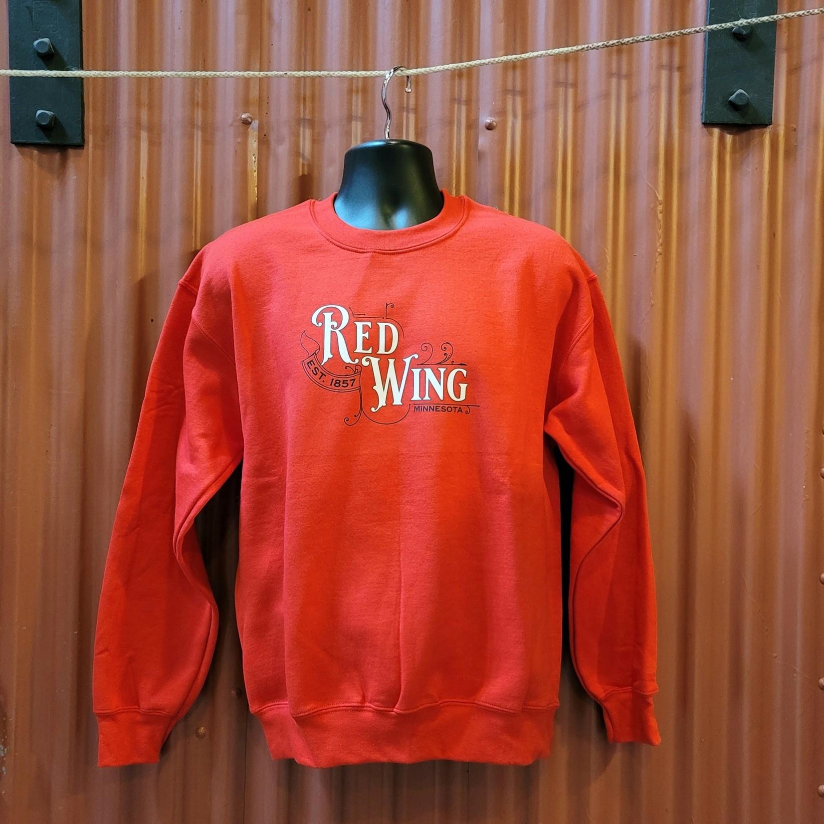 Bordertown Red Wing Sweatshirt