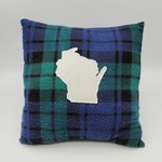 Bordertown Flannel State Pillow