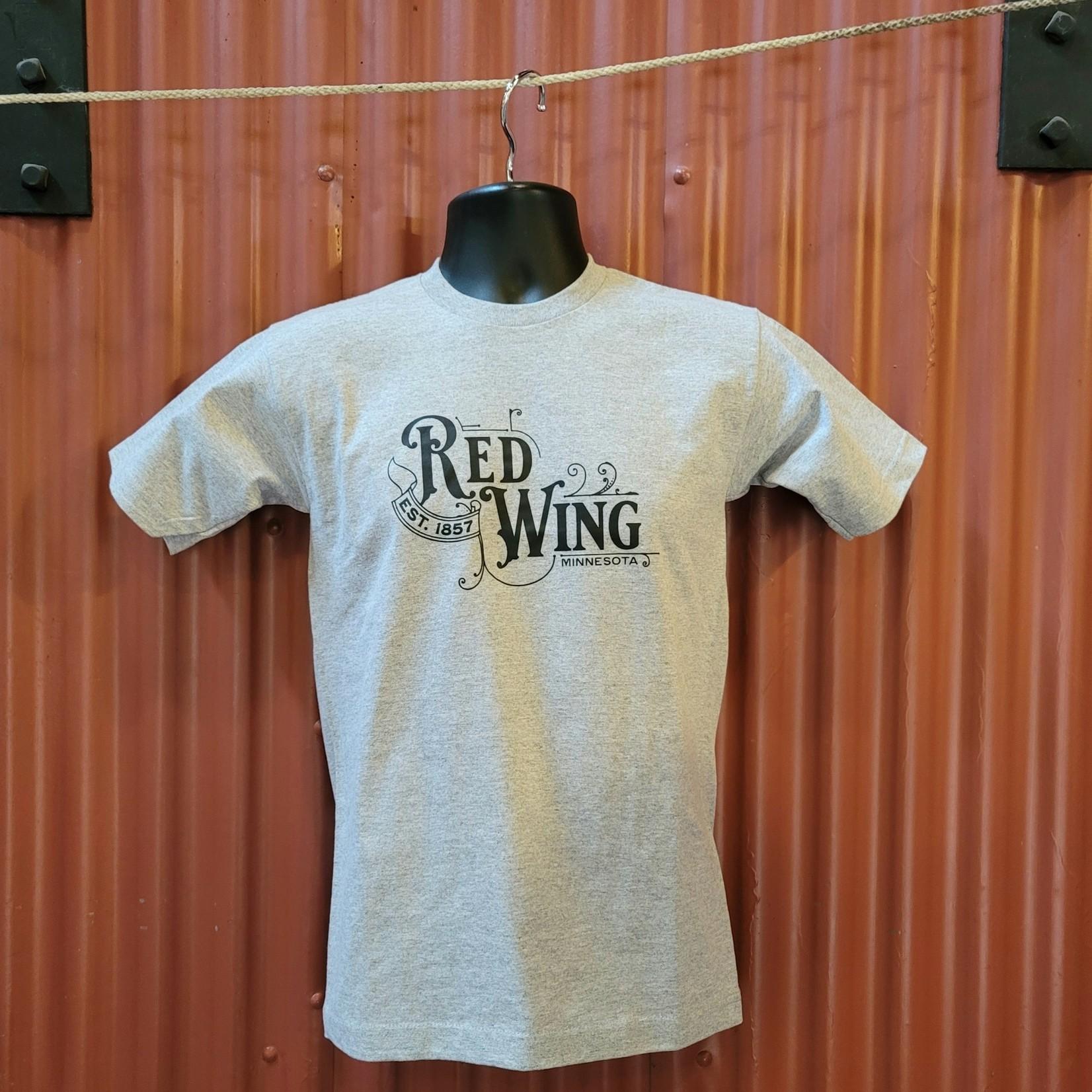 Bordertown Red Wing T Shirt